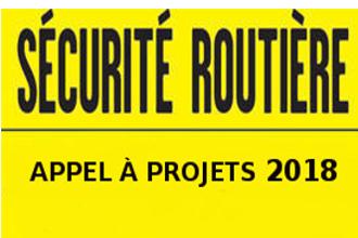 Appel à projets sécurité routière 2018