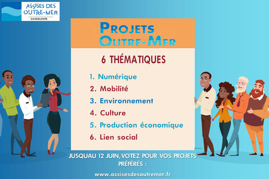 Vote Projets d'outre-mer AOM