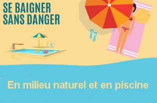 À la mer, à la rivière ou à la piscine : attention aux risques de noyade