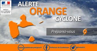 La Guadeloupe en alerte orange cyclonique