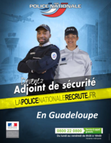 Avis de recrutement de 40 adjoints de sécurité de la police nationale - session 2018 - 2019